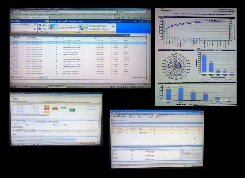 A demonstration of what EHRs used to look like in 2008. With the increasing need for big data science in healthcare, have the interfaces of EHRs changed since then?