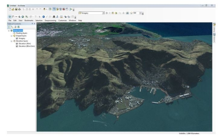 More detailed imagery in ArcGlobe