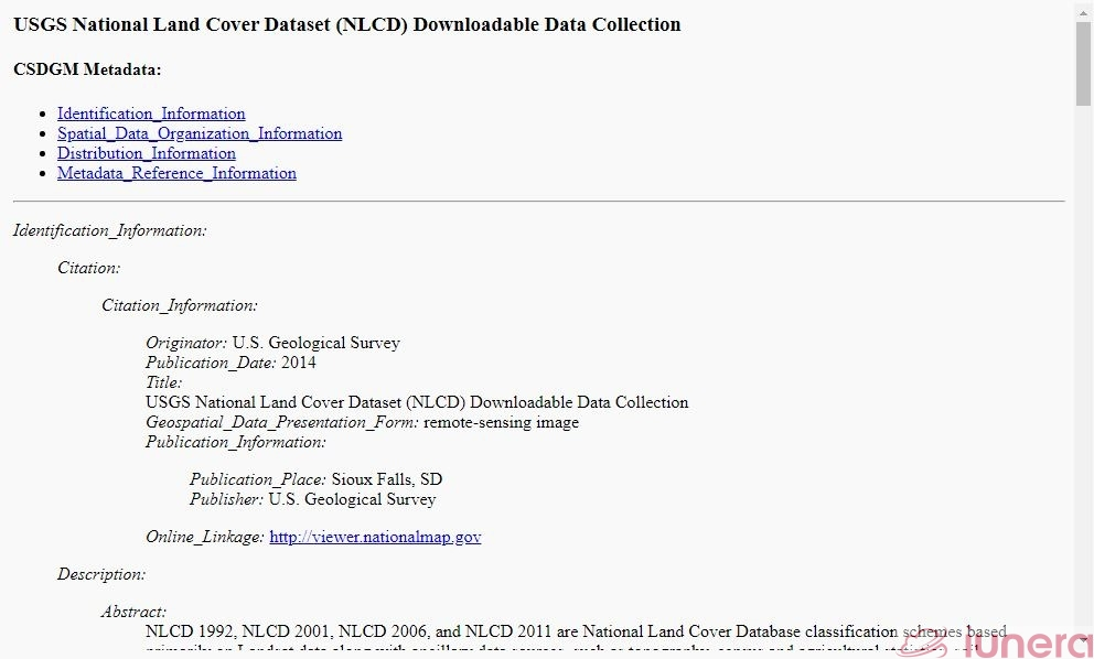 USGS SDC > Browse > Category > Subcategory > Data set > Metadata